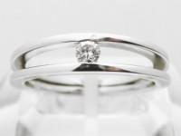 Zásnubní prsten s diamantem 004